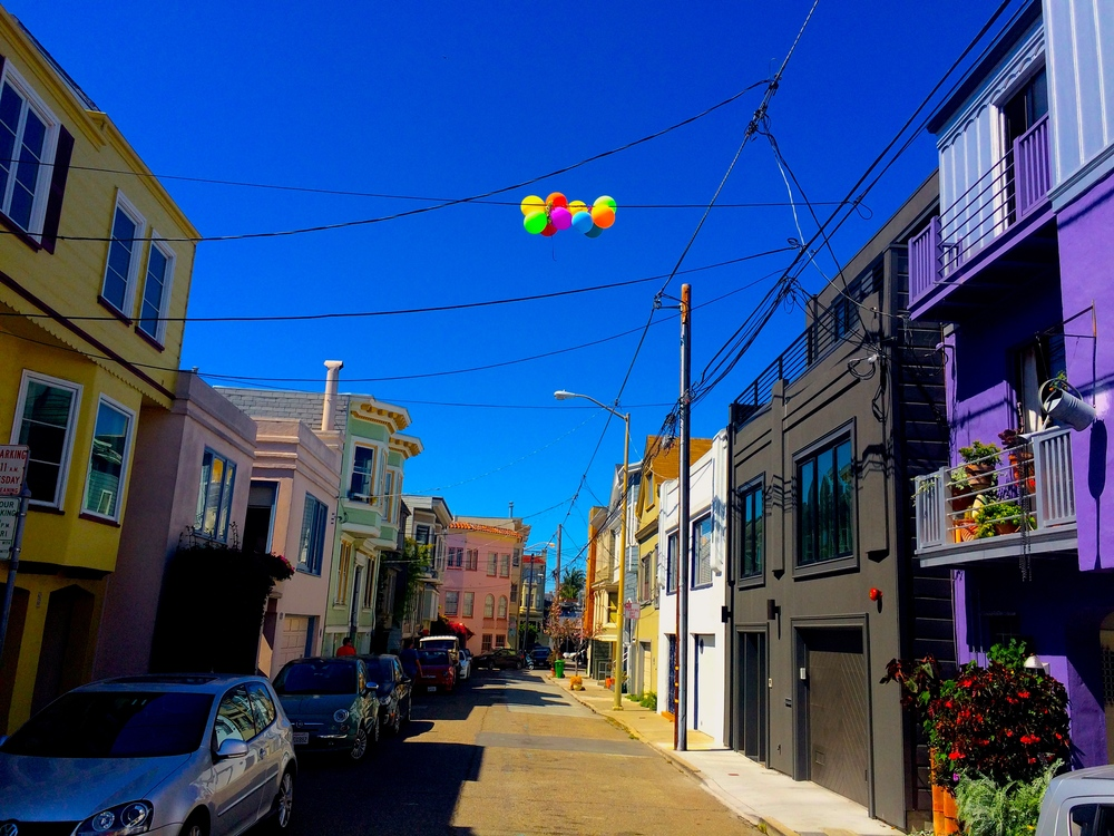 Location: The Mission District, San Francisco Photo: My own