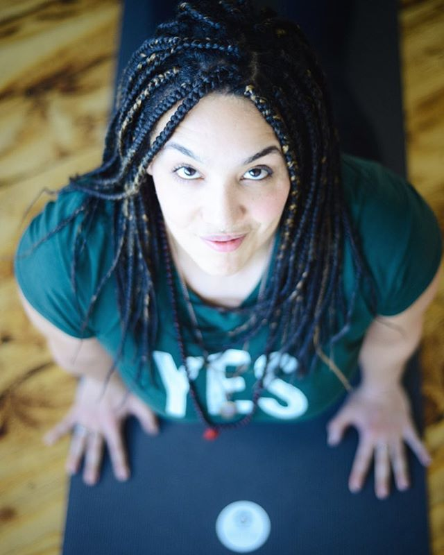 4 chances to catch class with me before I head out of town next week. Catch a hot class tonight at @sacredbrooklyn bedstuy- 6:15 rainy evening flow in honor of #Chichi's birthday (you know that means we'll sweat and move and groove and find our lion's roar!) Plus 2 chances tomorrow to check out @theyesstudio - a gorgeous new heated studio in ridgewood! 4pm and 6pm we'll bring the heat to this creative light filled space.  Then catch me Monday at 6:15 Sacred Fort Greene for non heated flow- we'll build the fire within.  Can't wait to see you this weekend!  #aditiflow #flow #creativewellness #justpractice #practice #findyourflow #yogawithlauren #jaichichi #sayyes