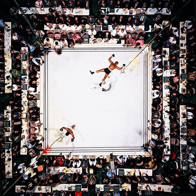 The greatest.  #rip #muhammadali #ali #iamthegreatest #thegreatest #legend #boxing #neilleifer