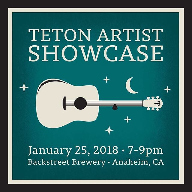 My band @moonlitkitmusic will be playing an acoustic set this Thursday after the first day of NAMM. Come swing by if you're in the area!