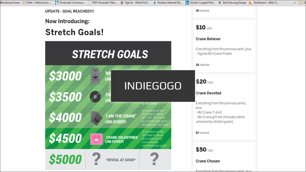 Click the image above to see the Crane's Indiegogo campaign.
