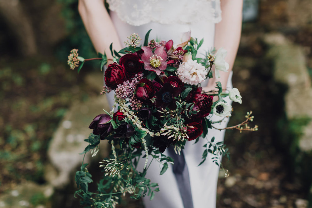 Image by  Butterfly Photography  and flowers by  Wild Bunch