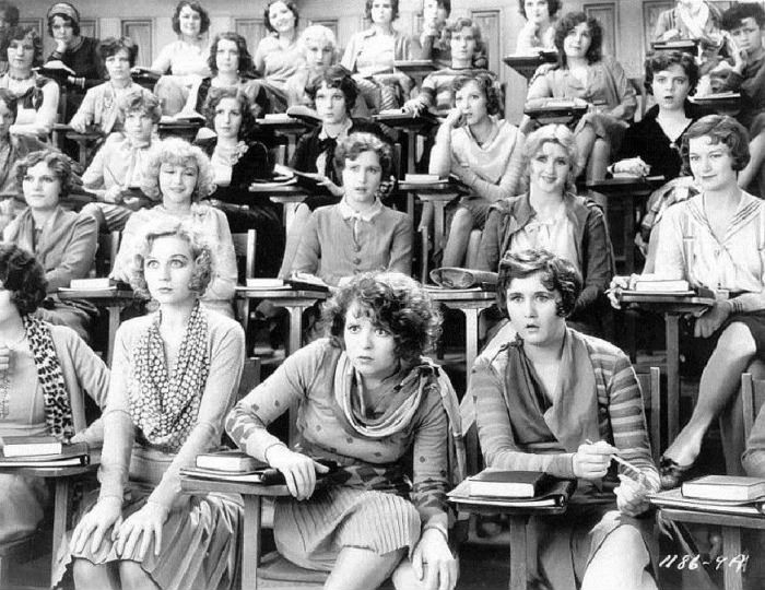 Sex education class in 1929.
