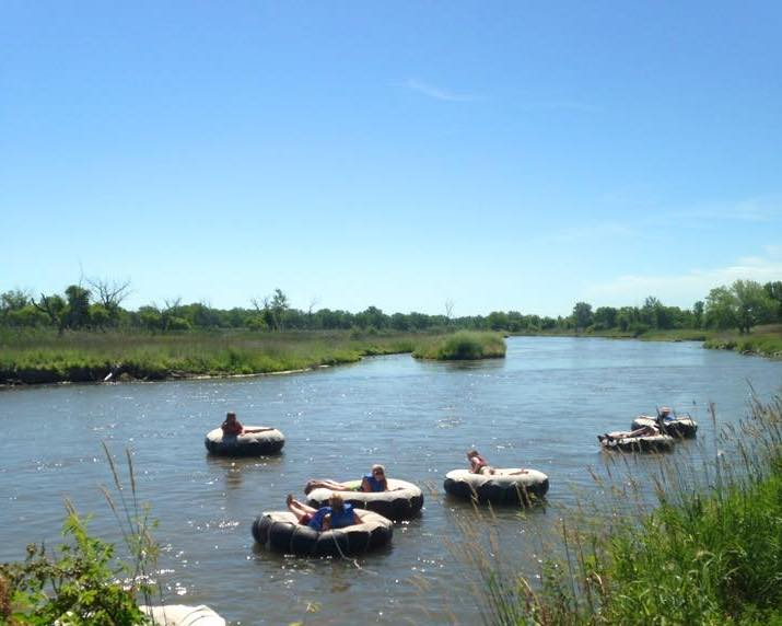 Tubing - Relax and float on the peaceful North Platte River.