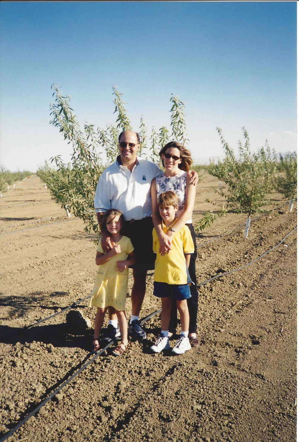 Dennis Soares & Family with first planting.jpg