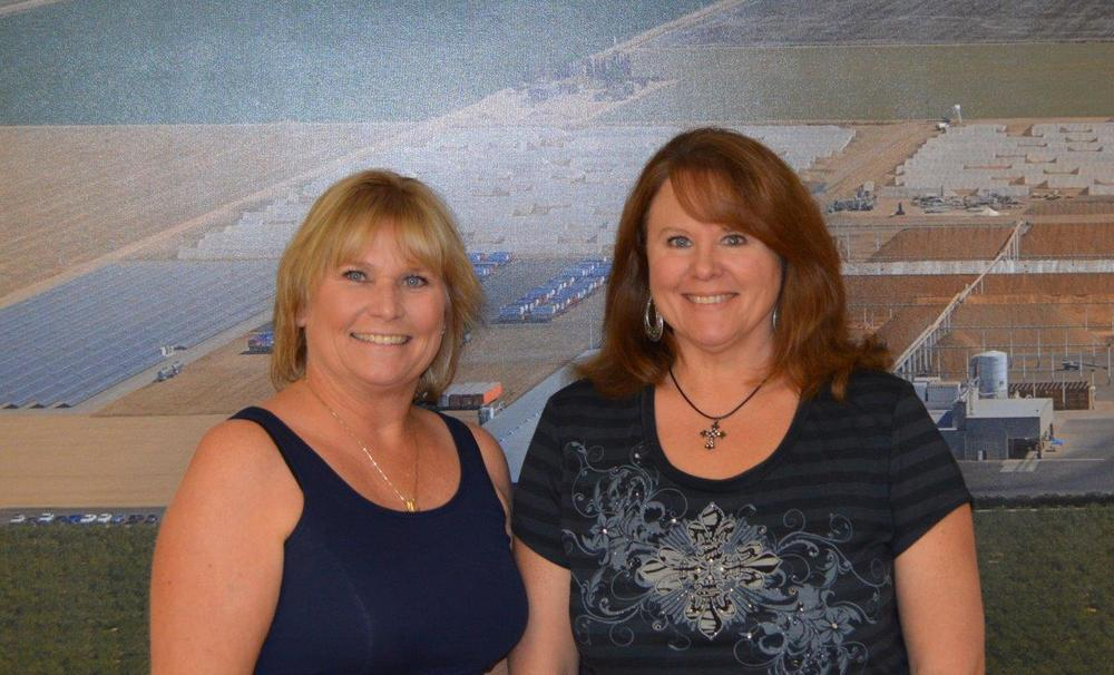 PAPC Office Staff - Karen Parreira, Bonnie Smith