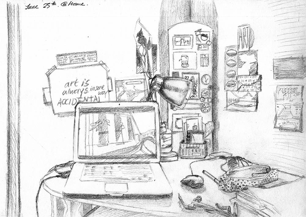 My Desk, 2012
