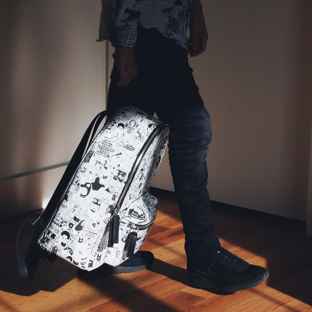 Amit Greenberg x Stroble New York backpack