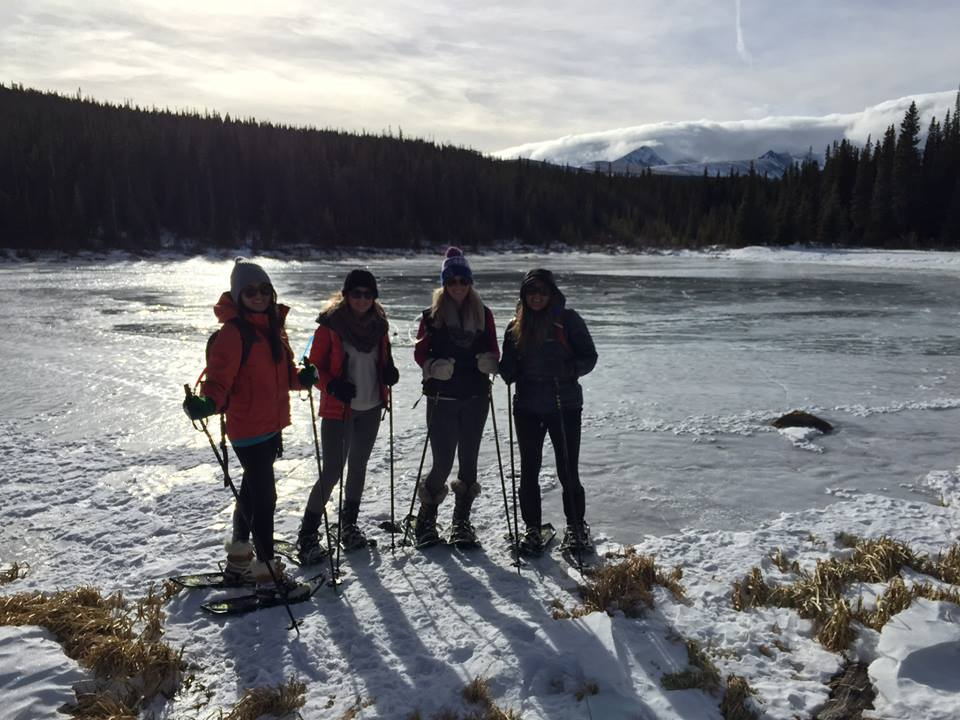 SNOWSHOE HIKE TO BRAINARD LAKE