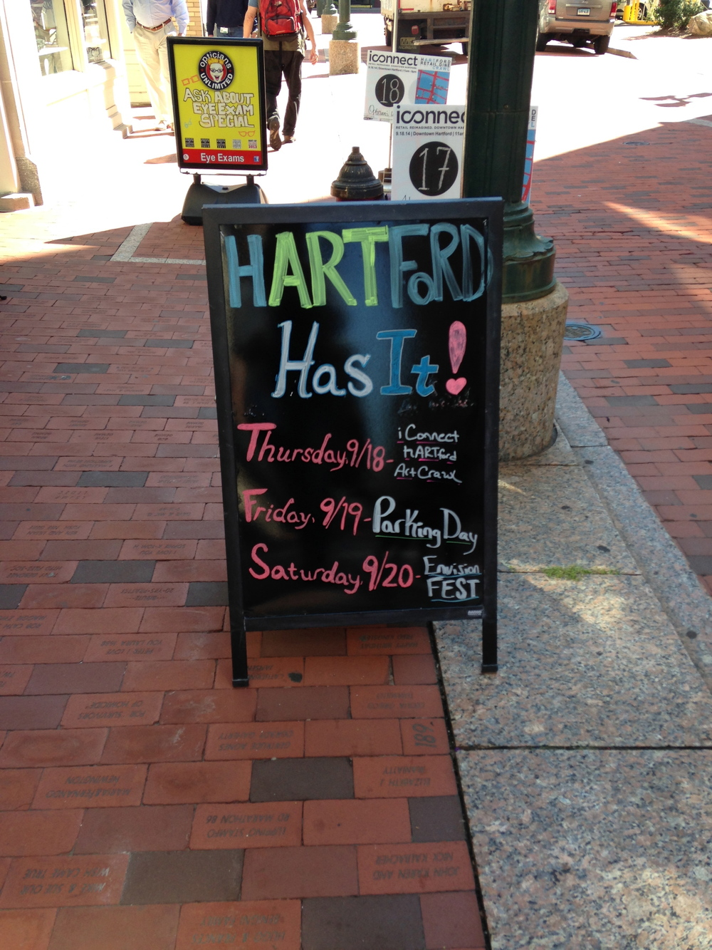 Weekend festivities in Hartford