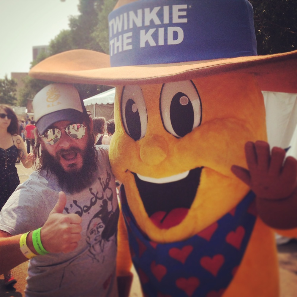 My buddy, Twinkie the Kid
