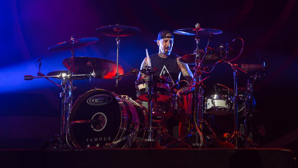 Travis Barker of Blink 182