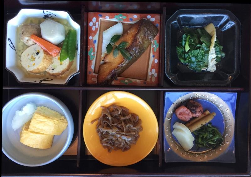 Japanese breakfast at the Shangri-La Tokyo
