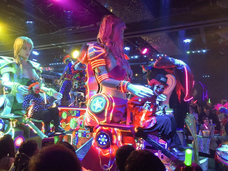 Touristy but hypnotic Robot Restaurant in Tokyo