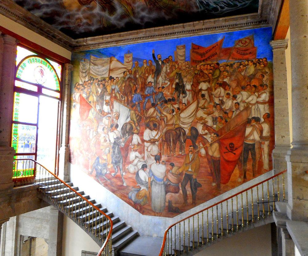 Museo Nacional de Historia at the Chapultepec Castle