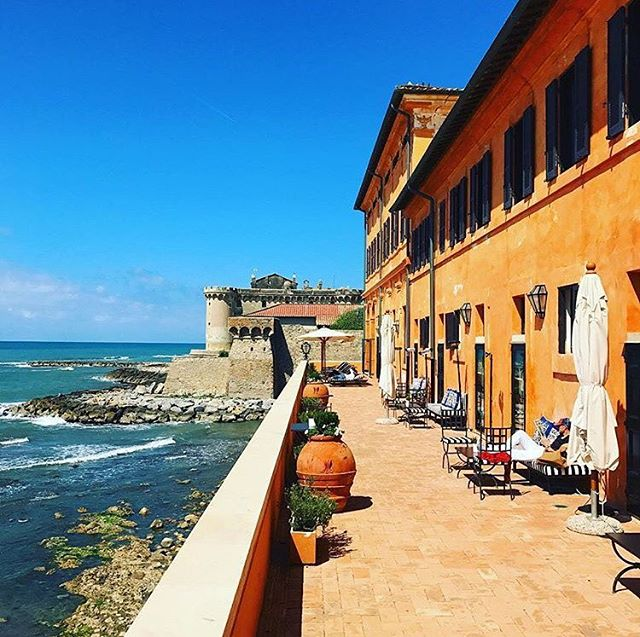La Posta Vecchia Hotel, Ladispoli, Italy #lapostavecchia #lpvminimaxi @marielouisescio @eagletta @jjmartinmilan @pellicano_hotels | Tag your escapes at @74escape and #74escape, join our community of travelers!