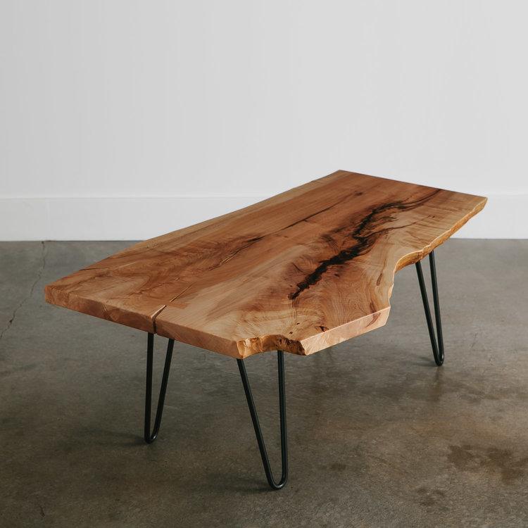 maple coffee table | live edge furnitureelko hardwoods