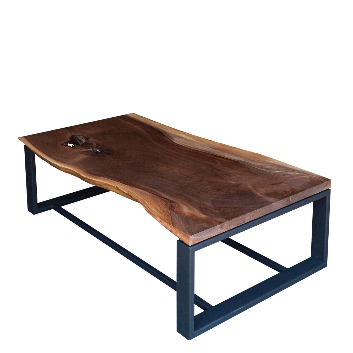 Walnut coffee table live edge furniture by elko hardwoods luxury walnut coffee table geotapseo Gallery