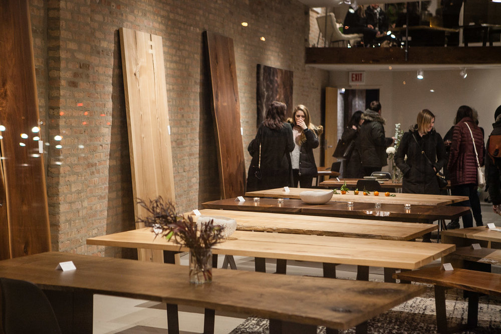 Elko Hardwoods Live Edge Dining Tables