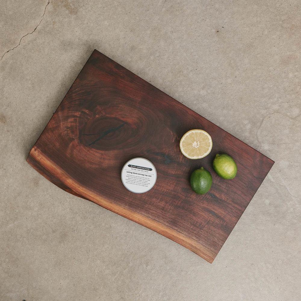 Walnut Live Edge Cutting Board