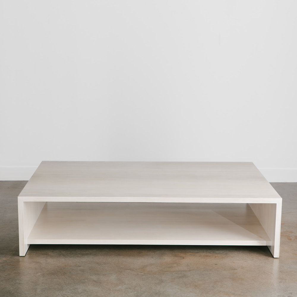 Whitewashed Ash Coffee Table
