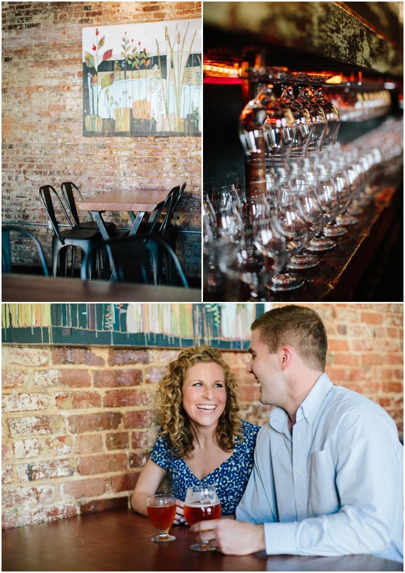 Augusta GA Aiken SC Charleston Wedding Photographer Bar Engagement Session Hive Growler Bar_0002.jpg