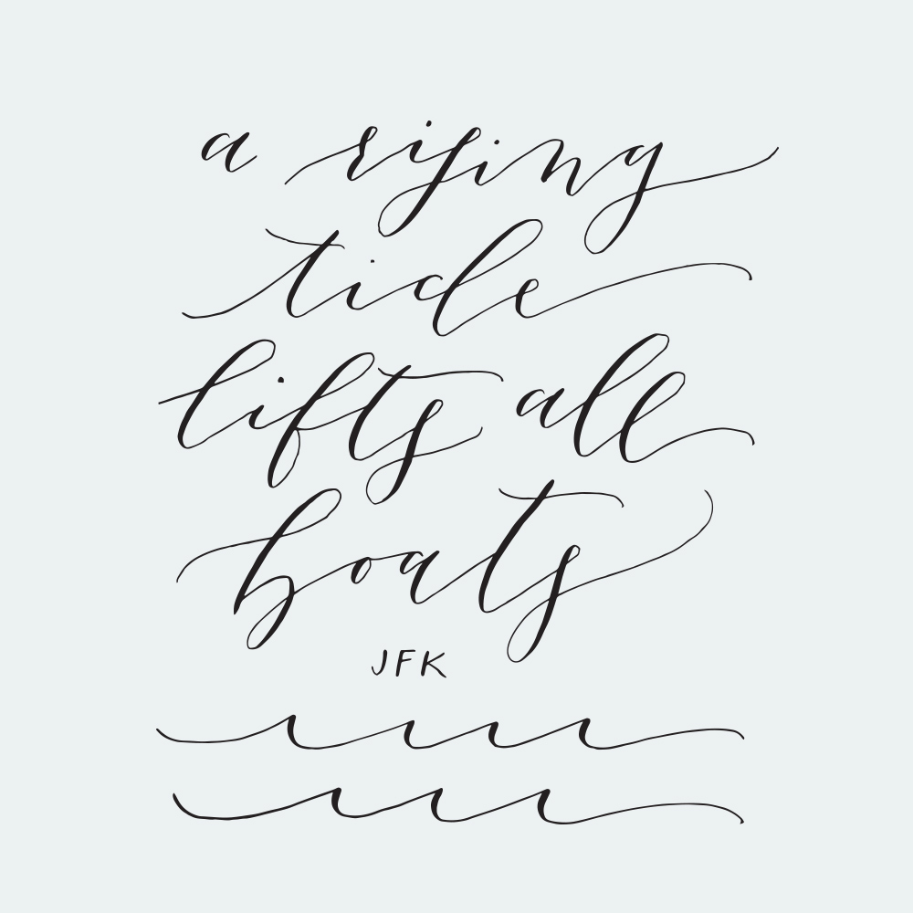 Calligraphy by: Poppy & Scooter