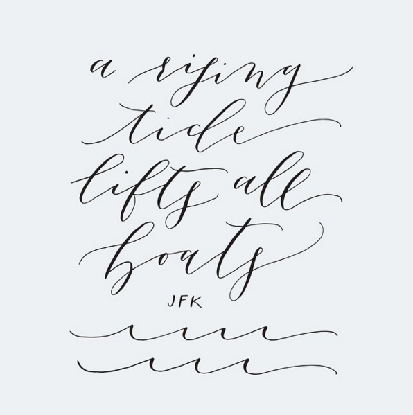 Calligraphy: Poppy & Scooter