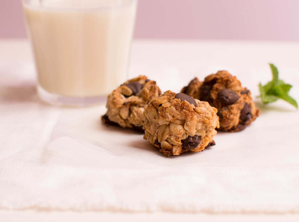 Banana Coconut Oat Chip Cookie