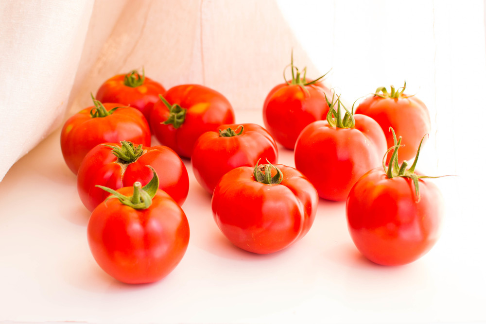 Summer perfection: Tomatoes at their peak.