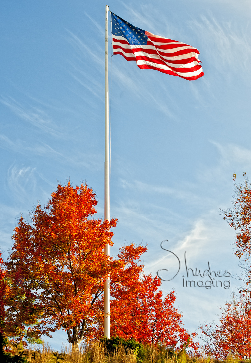 American Flag S.hughes Imaging
