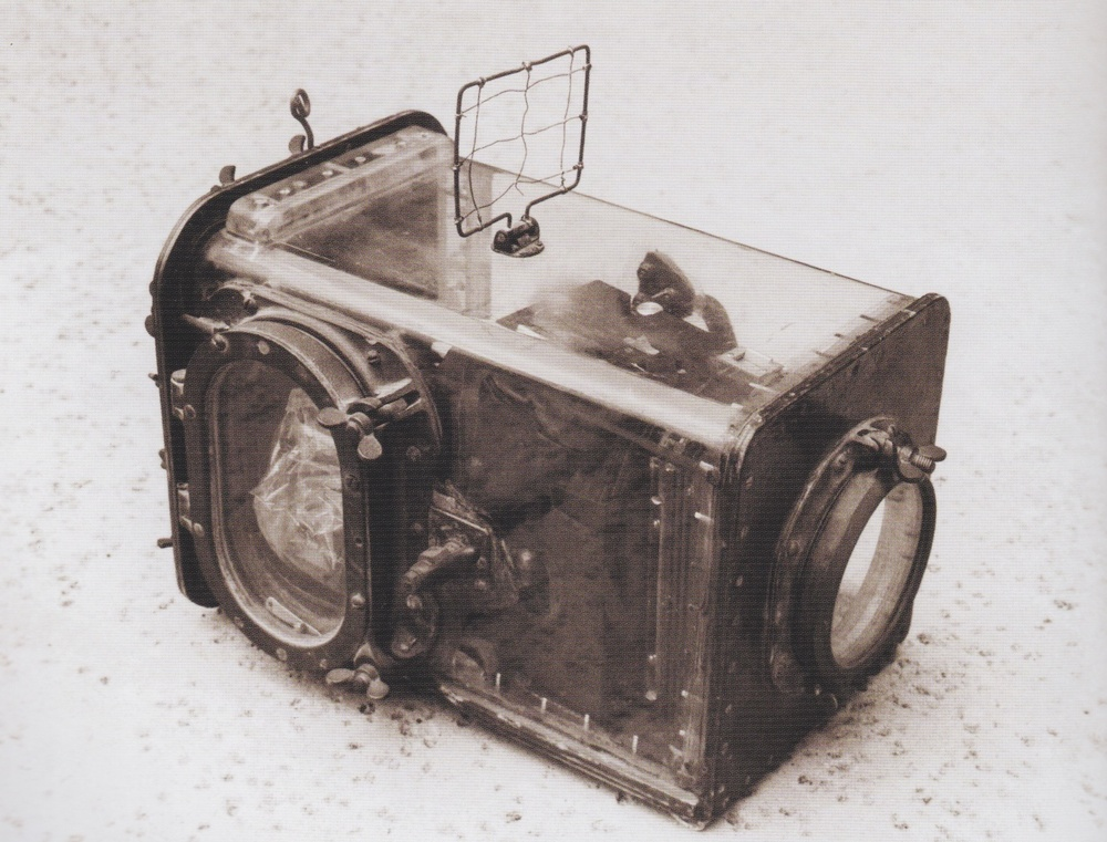 "The waterproof housing, developed by Tom Blake, expanded photography and helped share the sport and joy of ""wave riding"" with the world."