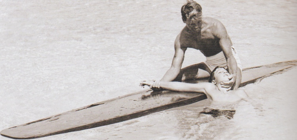 Lifeguarding techniques revolutionized by Tom Blake are credited for saving thousands of lives and are still practiced across the globe.