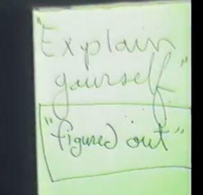 Diagram # 109 video grab