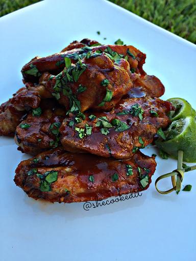 Sriracha Agave Wings
