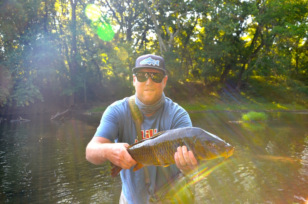 Nice fish but you can see why Zach doesn't run the camera.