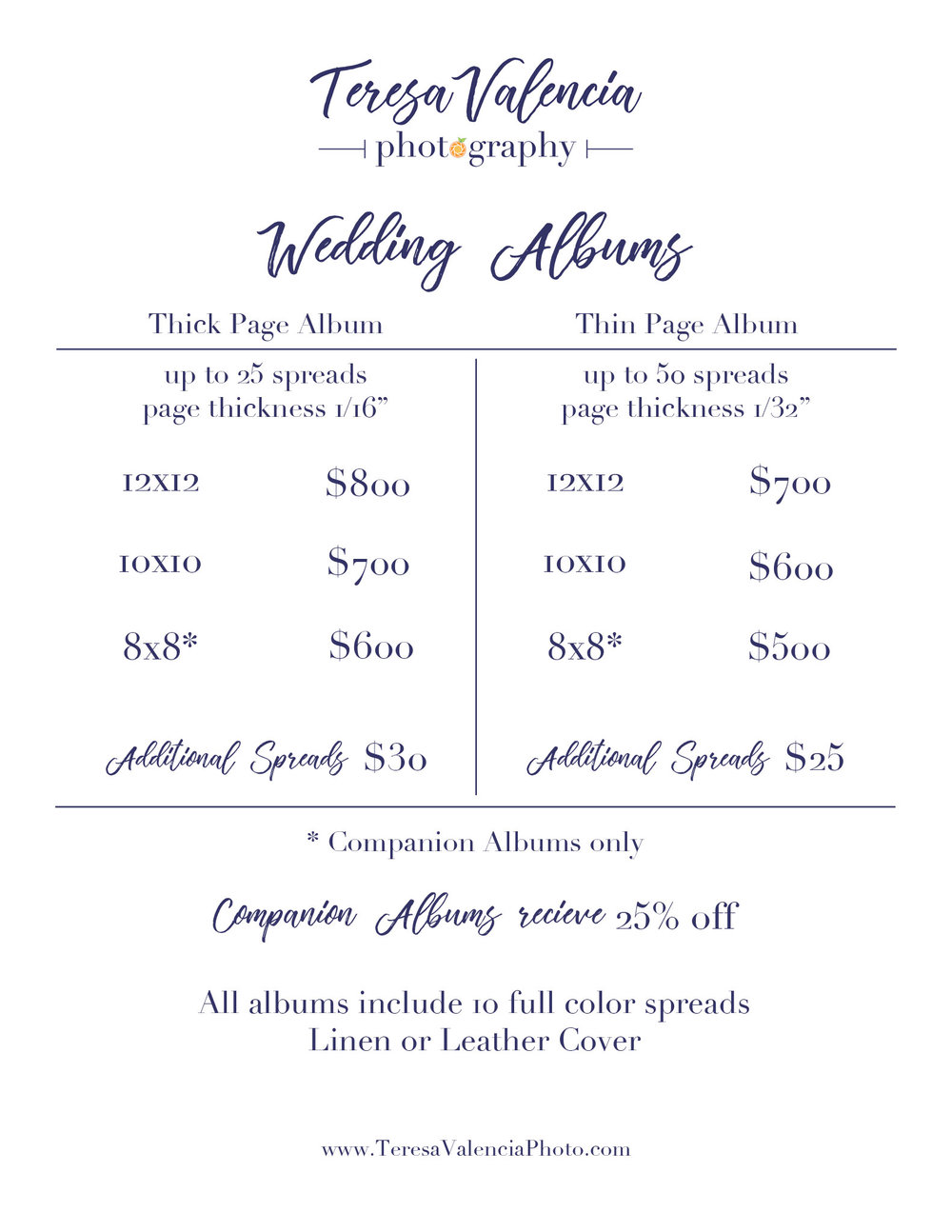 Album-Pricing_web.jpgWedding Album Pricing from Teresa Valencia Photography