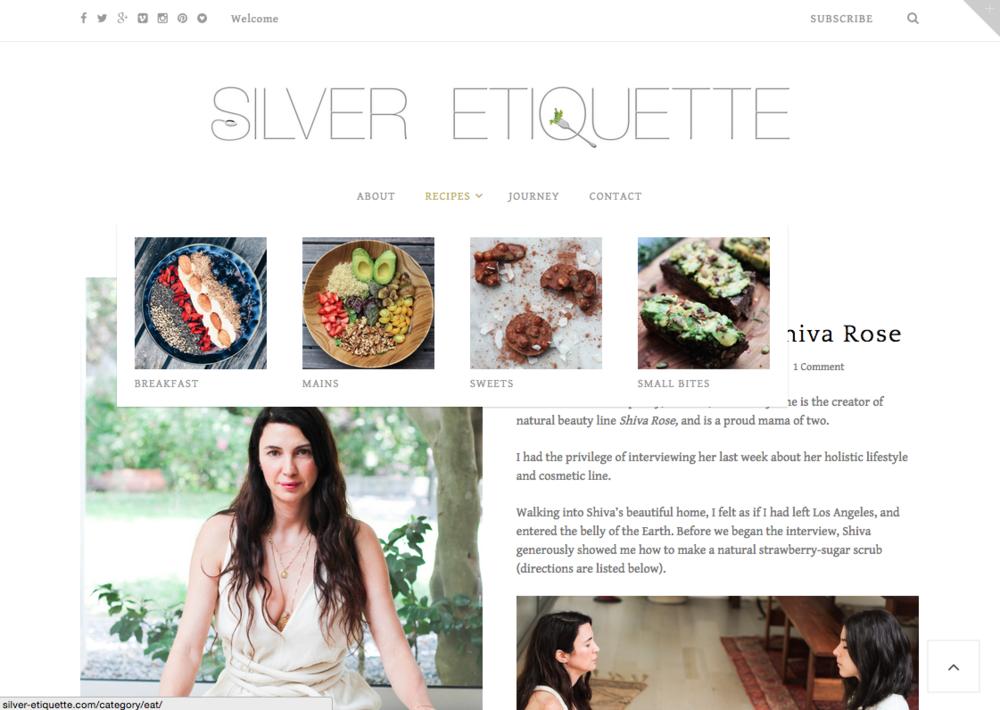 Silver-Etiquette.com