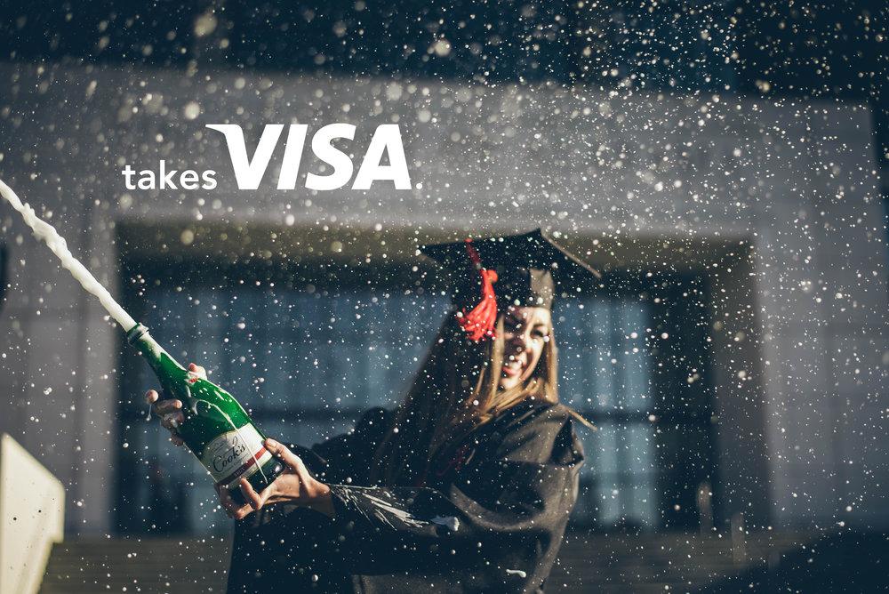 mel blanchard gong ad campaign takes_visa_college.jpg