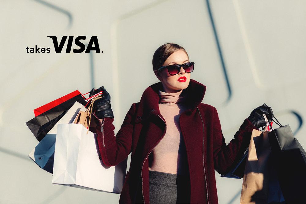 mel blanchard gong ad campaign takes_visa_shopping.jpg