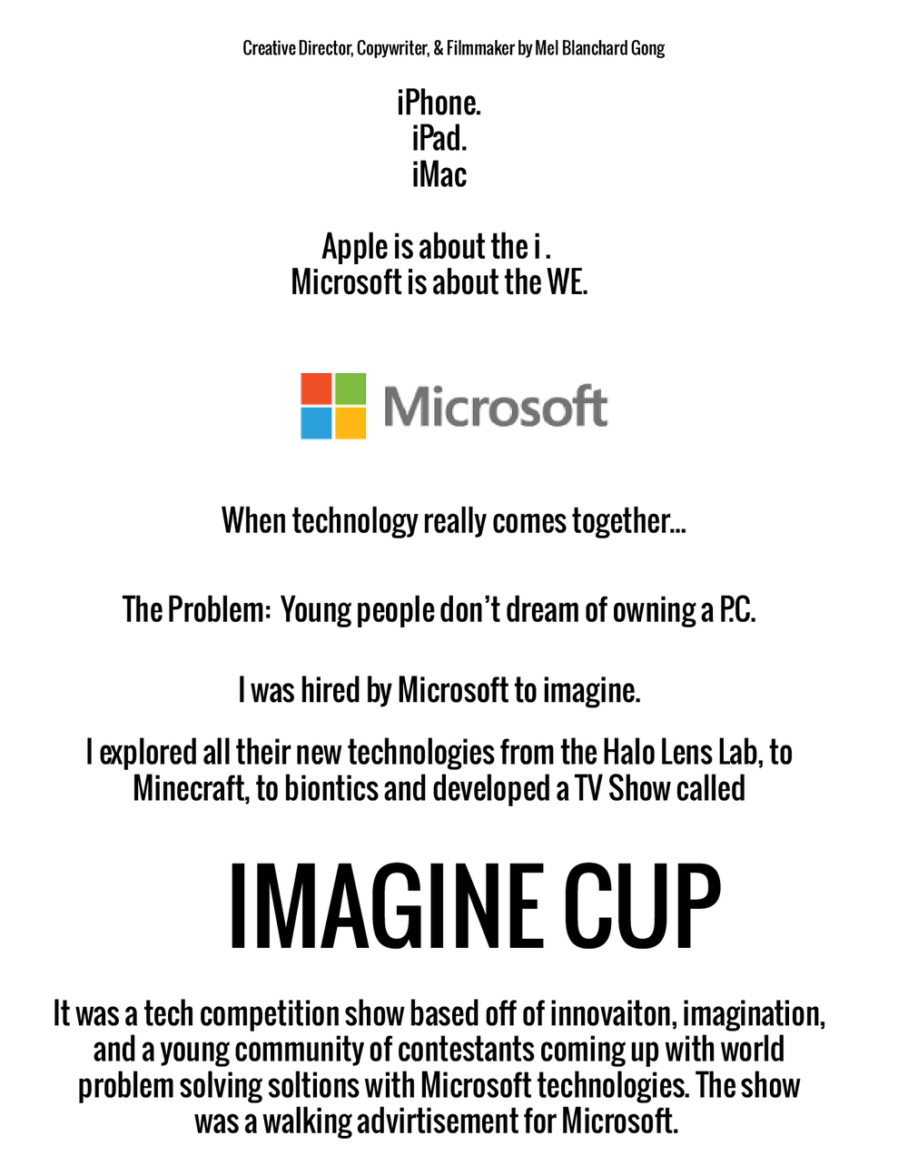 mel blanchard gong ad campaign microsoft imagine cup.png