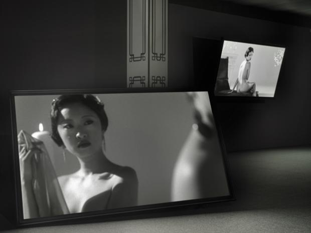 ShanghART Gallery,Yang Fudong, New Women, 5 channel video installation 2  _©YANG Fudong_Photo by .jpg