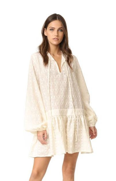 MATIN Embroidered Full Sleeve Dress