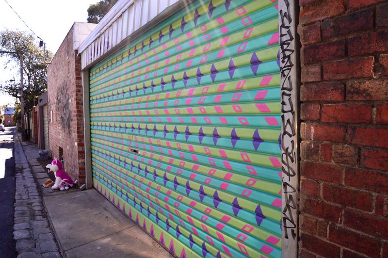 Little George Street in Fitzroy - Melbourne, Australia