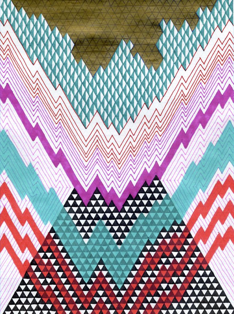 Isometric Harlequin #5