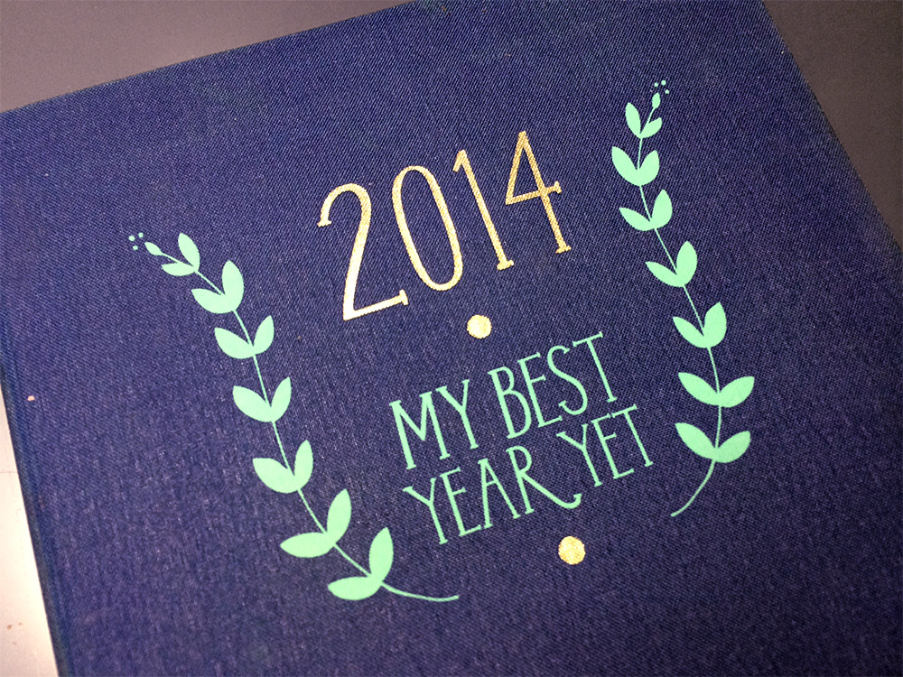 2014 planner cover