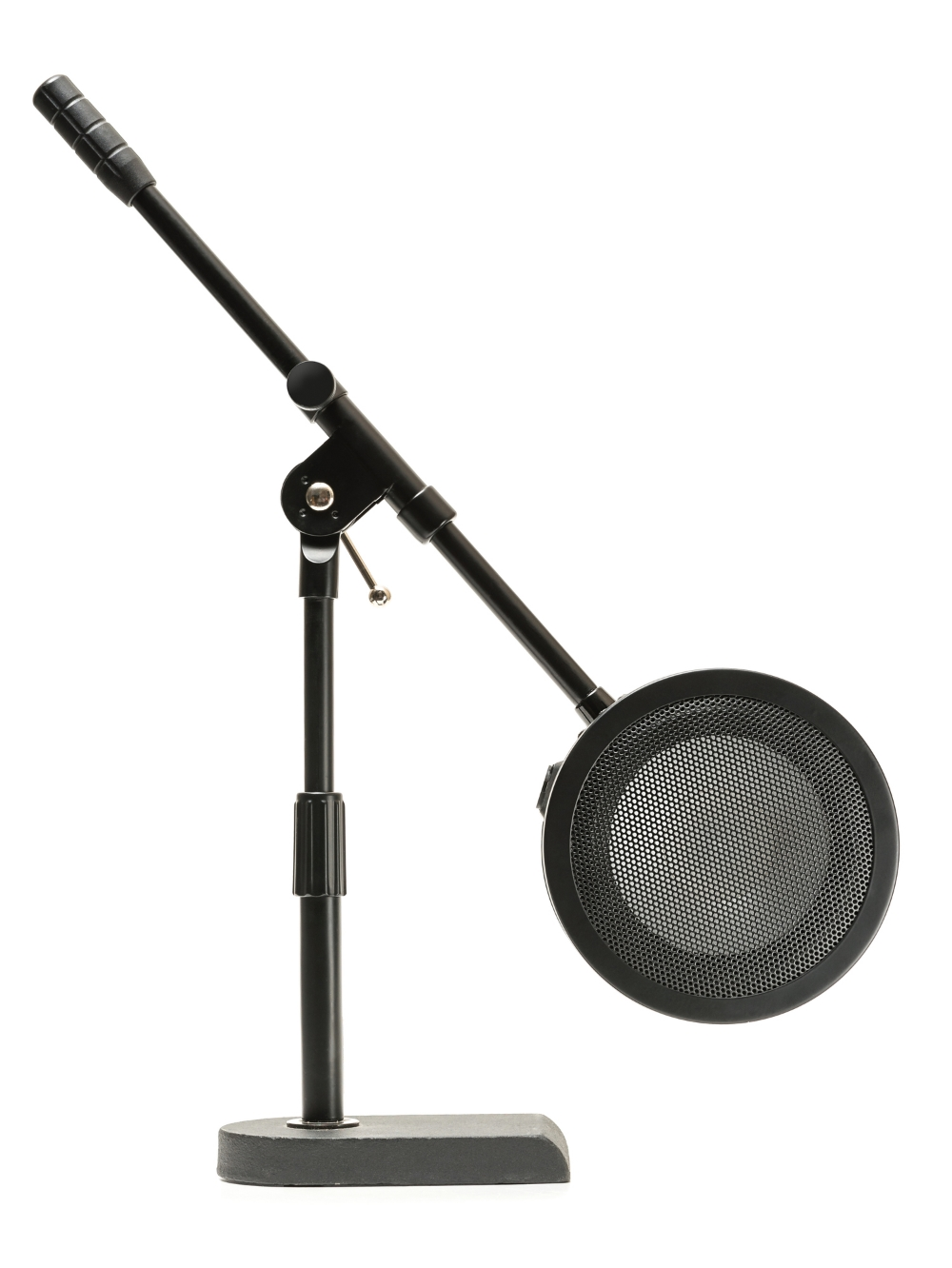 With lower overall weight, and a smaller form factor, the Solomon LoFReQ can be used with almost any mic stand, including most desktop stands.