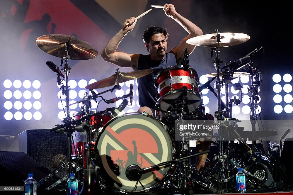 BRAD WILK : (drummer) RAGE AGAINST THE MACHINE, PROPHETS OF RAGE, AUDIOSLAVE