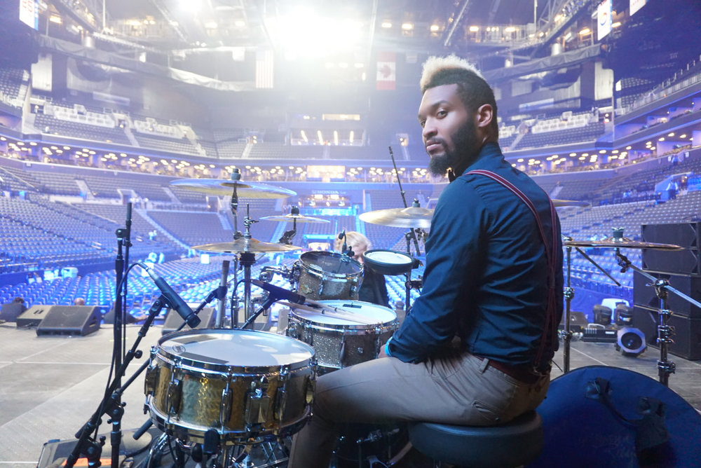LEON KITTRELL  aka  KWIKSTIKS : (drummer) TLC, 2CHAINZ, JIDENNA