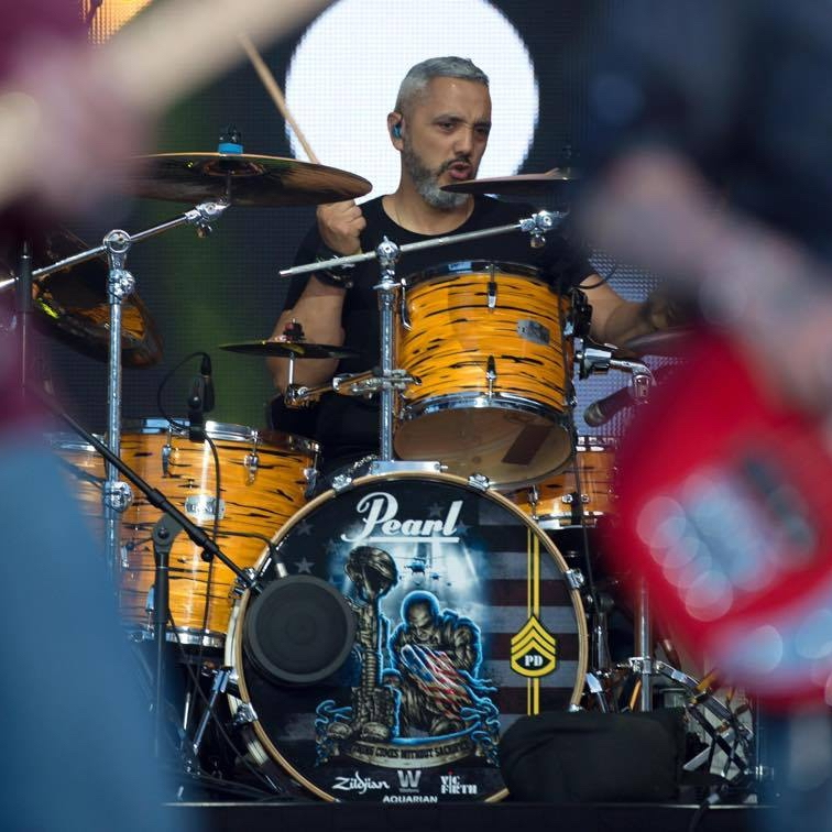 PAUL DELACERDA : (drummer) VETTED (Wounded Warrior Band)